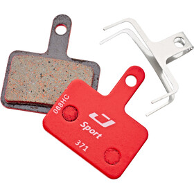 Jagwire Disc Sport Semi-Metallic Brake Pads For Deore / Tektro Auriga Comp / Aquila / RST D-Power grey/red